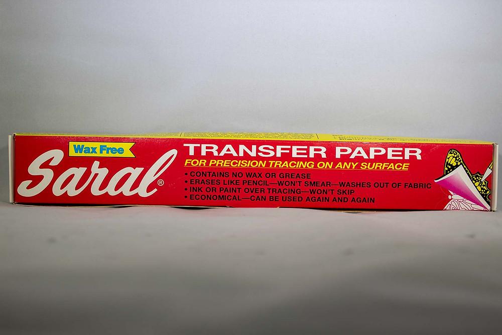 Saral White Transfer Paper