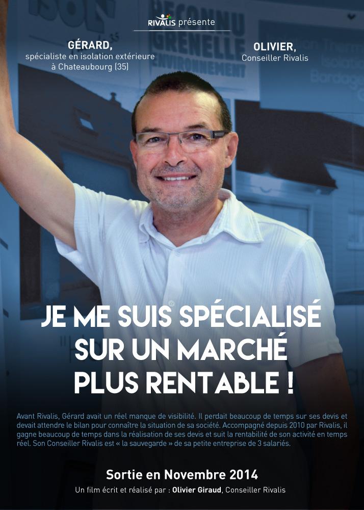 Gérard, spécialiste en isolation ext