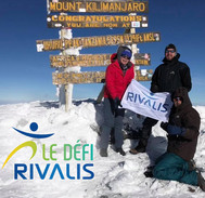 Défi Rivalis au Kilimandjaro en 2018