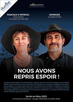Pascale et Patrick - Lou Pebre Cavalaire