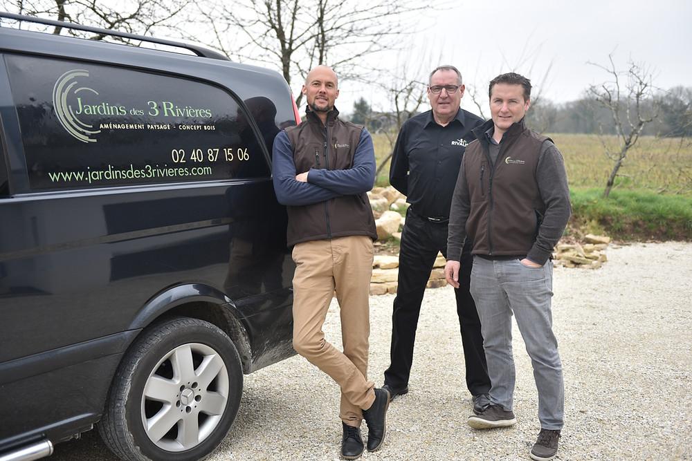 Christophe, Stéphane et Yves Boncour
