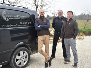 Christophe et Stéphane, paysagistes « Nous sommes vraiment épaulés ! »