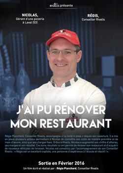 Nicolas, gérant pizzeria