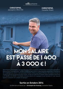 Christophe, paysagiste