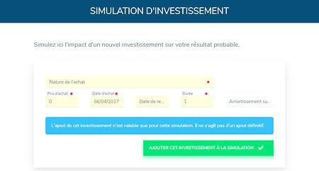 Simulation investissement Rivalis