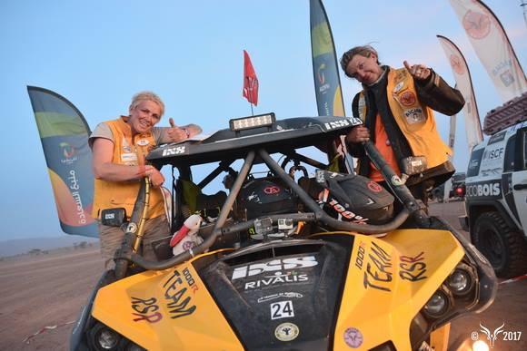 Rivalis sponsorise Caroline Bugatti au rallye Aïcha des Gazelles