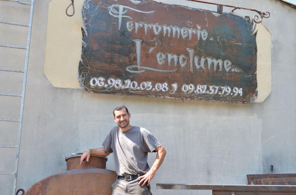 Alexandre, ferronnier utilisateur de Rivalis
