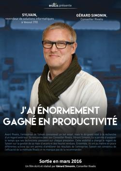 Sylvain, revendeur informatique