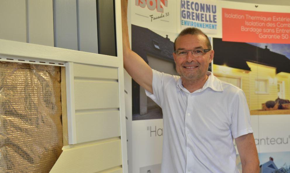 Gérard, spécialiste en isolation extérieure