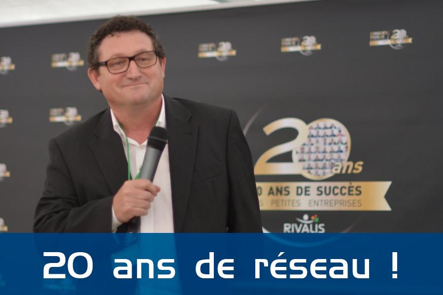 Jean-Paul Planchot fête ses 20 ans chez Rivalis en 2016