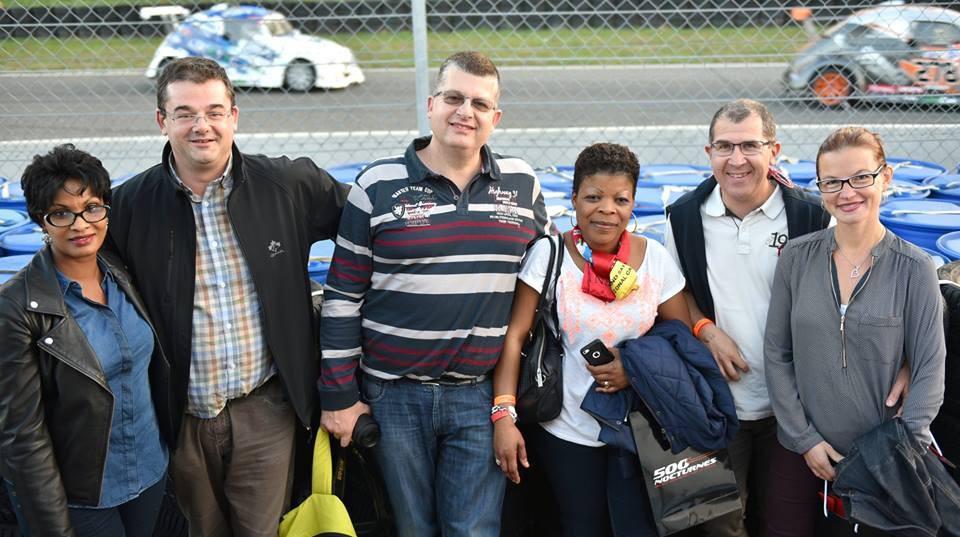 Laurent Bailliet et ses clients