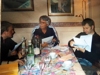 Henri, Damien et Lionel Valdan