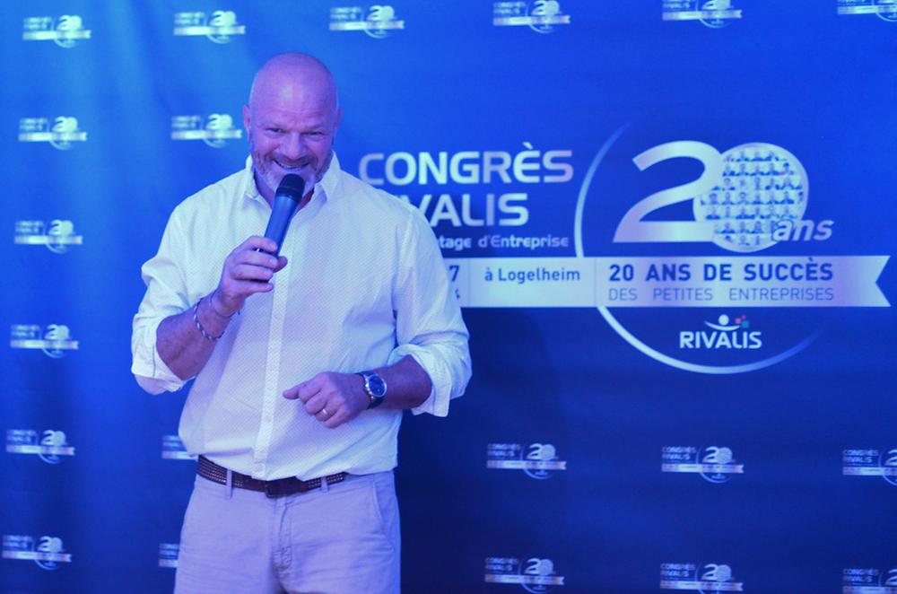 Philippe Etchebest au Congrès des 20 ans Rivalis