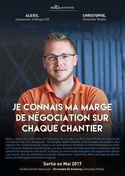 Alexis, charpentier