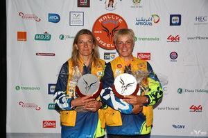 Caroline Bugatti et Frédérique Risser à la remise des prix