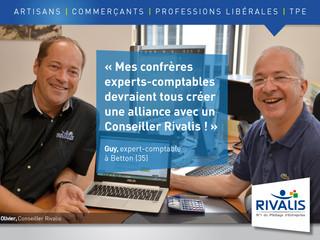 Témoignage de Guy, Expert-Comptable : « Le métier de Conseiller Rivalis est complémentaire au nôtre