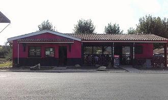La façade extérieure avant le tournage