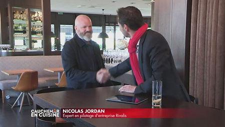 Nicolas Jordan et Philippe Etchebest