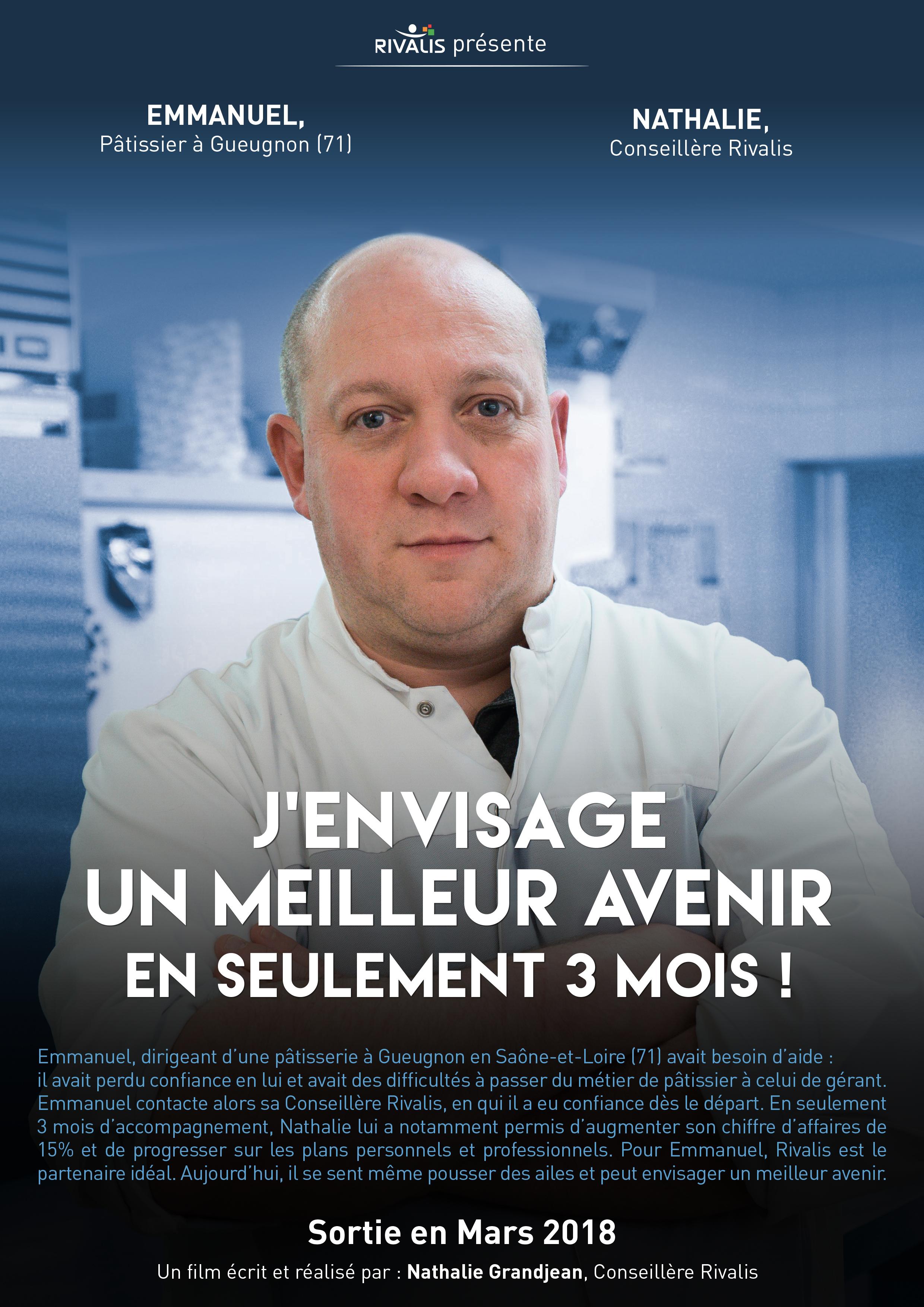 Témoignage Emmanuel, pâtissier