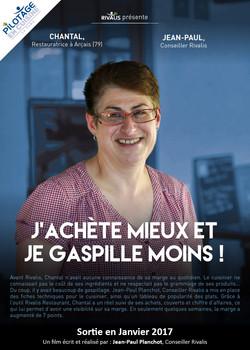 Chantal, restauratrice