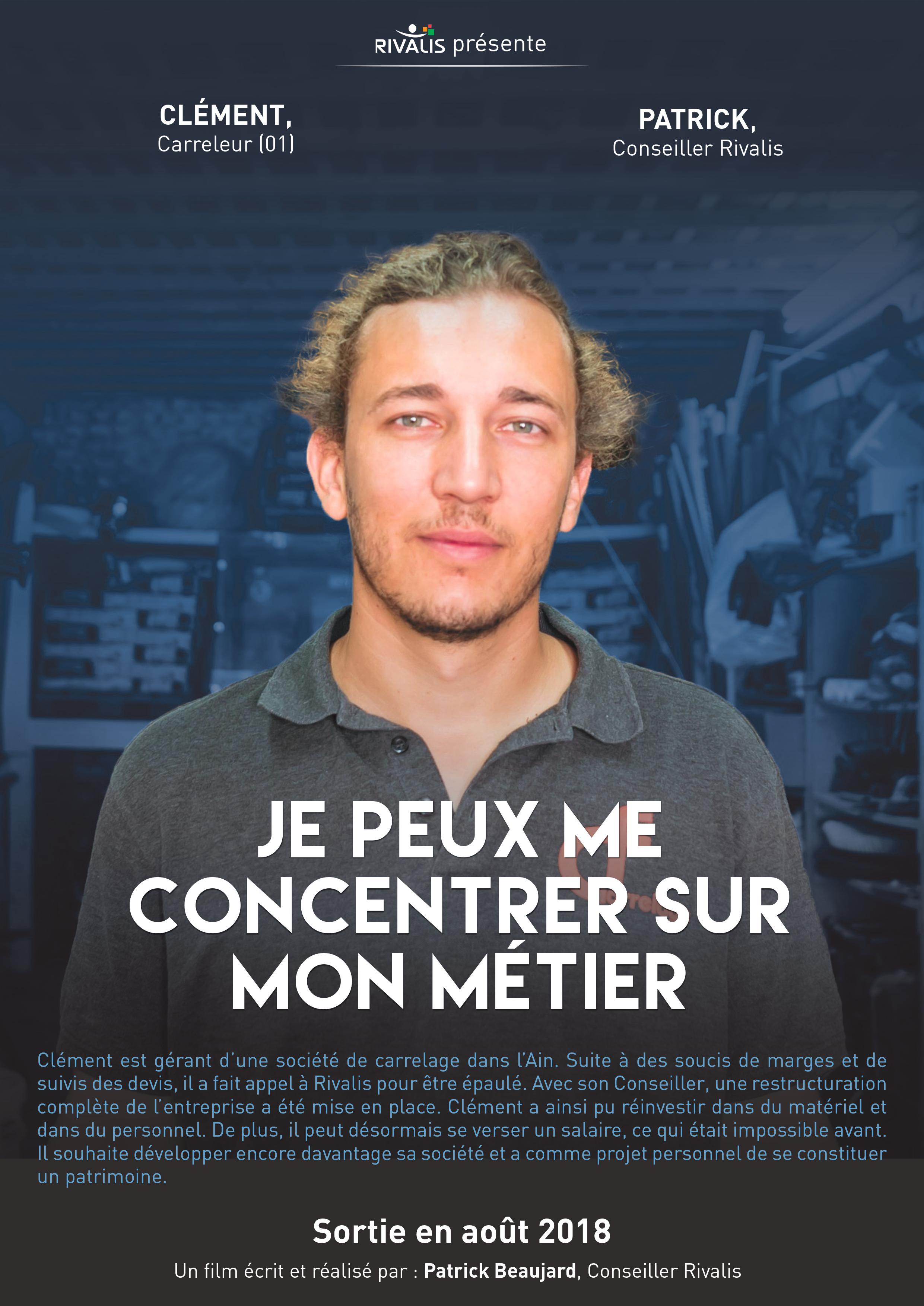 Clément, carreleur