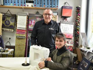 Brigitte, artisan tapissier décorateur « Mon entreprise est performante sur chaque devis »