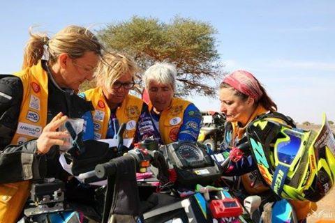 Rivalis au rallye Aïcha des Gazelles du Maroc