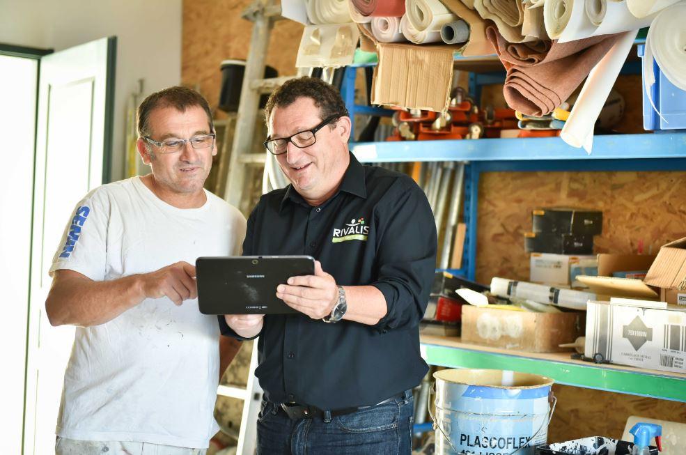 Christophe et son Conseiller Rivalis Jean-Paul Planchot
