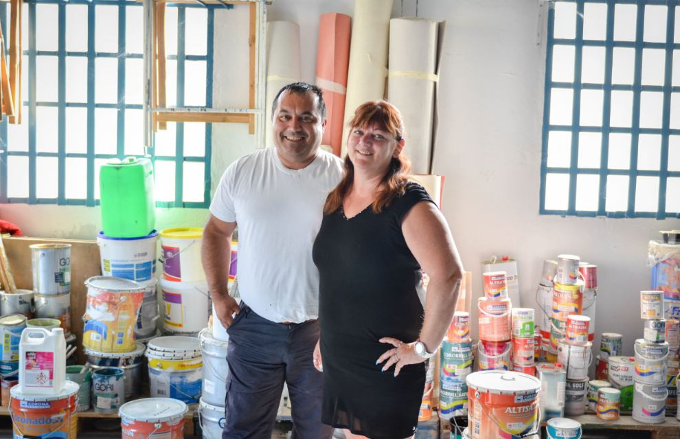 Patrick et Christine, peintres utilisateurs Rivalis