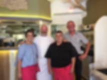 L'équipe du restaurant