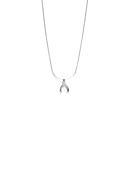 Collar Wishbone Plata