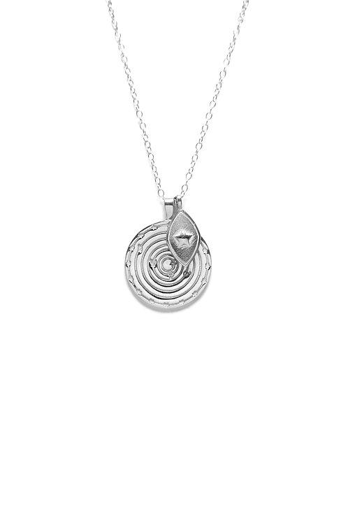 Medallón Solar System Plata 2