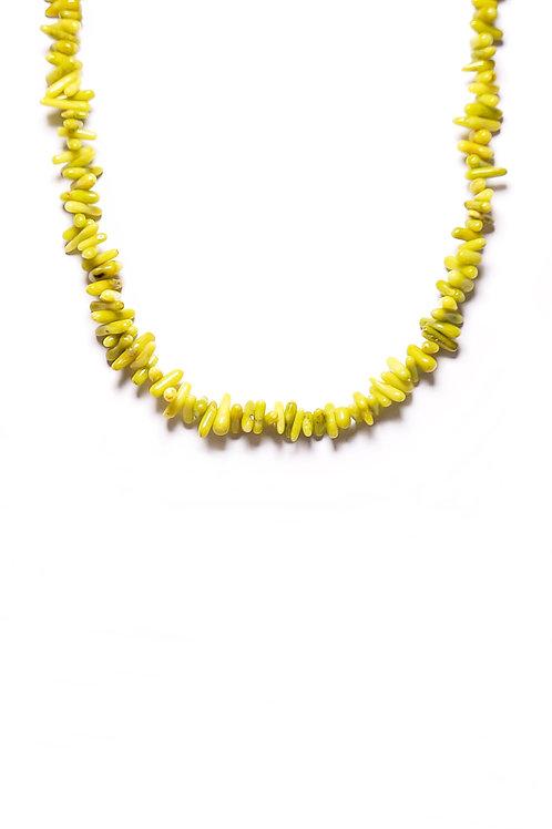Collar Wasabi Oro