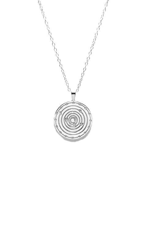 Medallón Solar System Plata