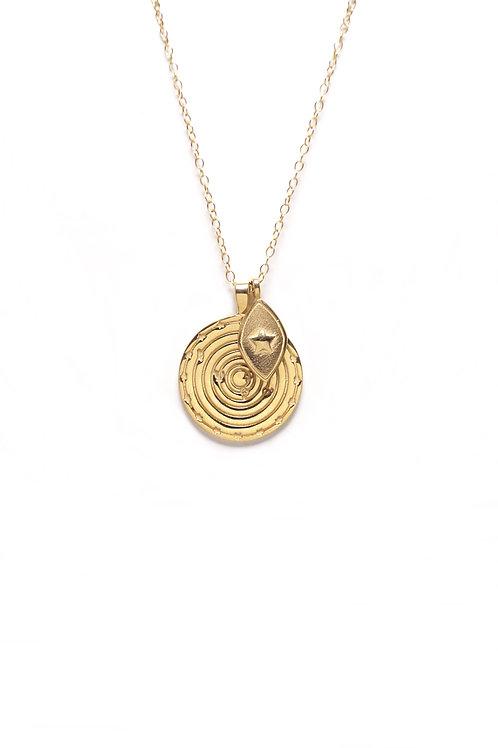 Medallón Solar System Oro 2