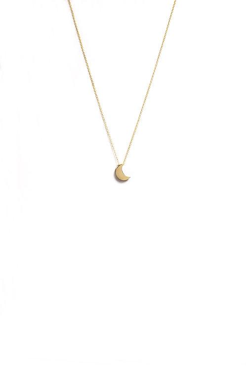 Collar Luna Oro