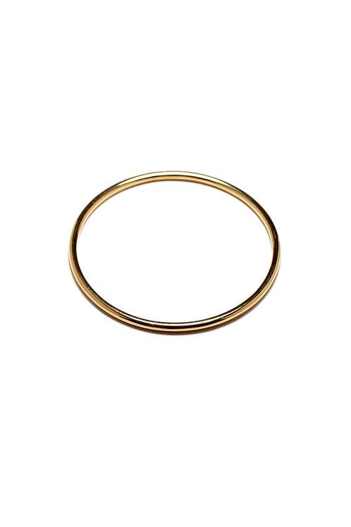 Brazalete Redonda Oro