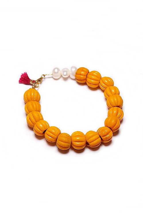 Pulsera Pumpkin Oro