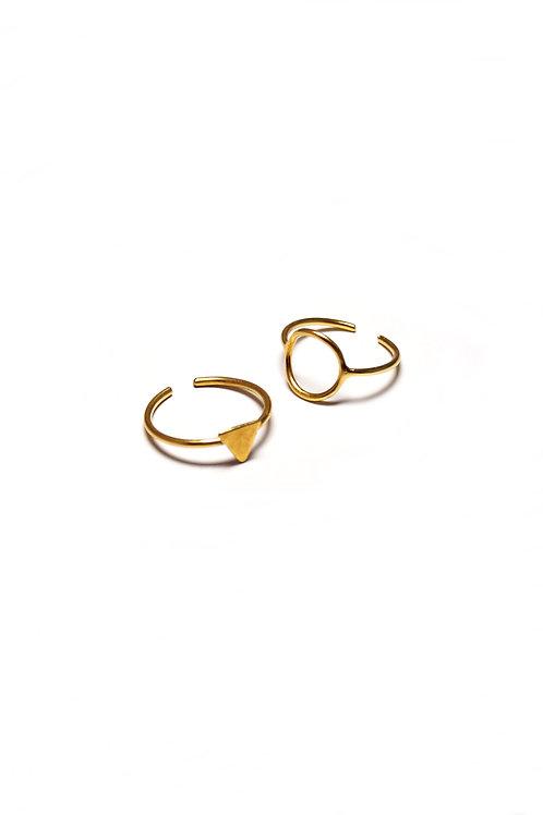 Conjunto de dos anillos OUTLET