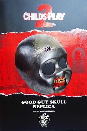 Child's Play 2 Chucky Good Guy's Skull Prop