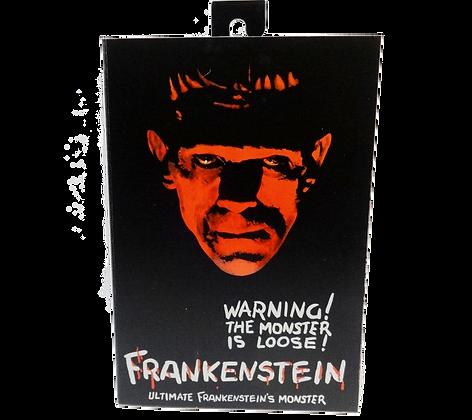 Universal Monsters Ultimate Frankenstein's Monster Action Figure Black and White