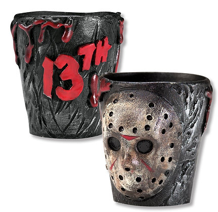 Friday the 13th Shot Glass Set