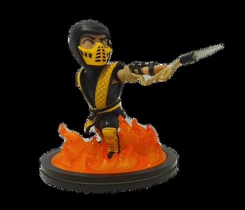 Mortal Kombat Scorpion Q-Fig