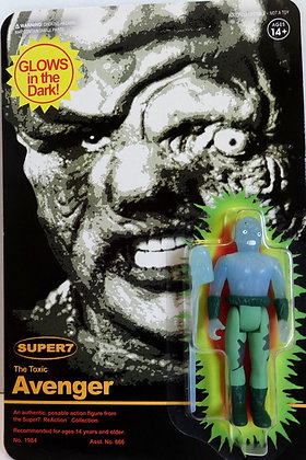 Toxic Avenger Toxie Glow in the Dark ReAction Figure