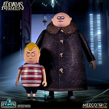 Mezco 5 Points The Addams Family Fester and Pugsley
