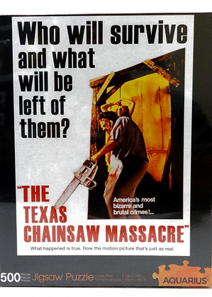 Aquarius The Texas Chainsaw Massacre 500 Piece Puzzle