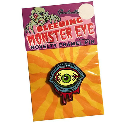 Enamel Pin Bleeding Monster Eye