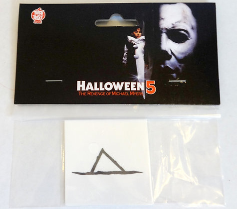 Trick or Treat Studios Halloween 5 Michael Myers Throne Tattoos