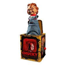 Mezco Burst A Box Scarred Chucky