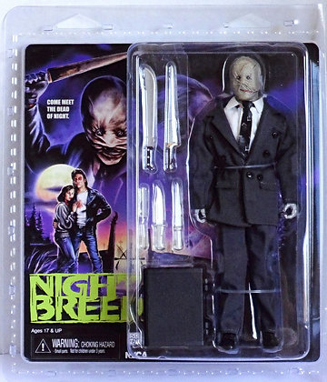 """Neca Nightbreed Decker 8"""" Clothed Action Figure"""
